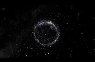 Look: Space junk