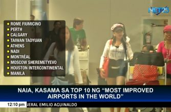 NAIA named 10th most improved airport in the world