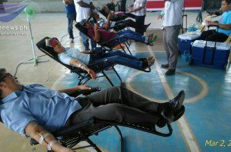 INC nagsagawa ng blood donation activity sa Maguindanao
