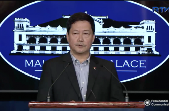 Senior Deputy Executive Secretary Menardo Guevarra is the new Department of Justice Secretary, says Palace spokesperson Harry Roque.  (Photo courtesy Malacanang)