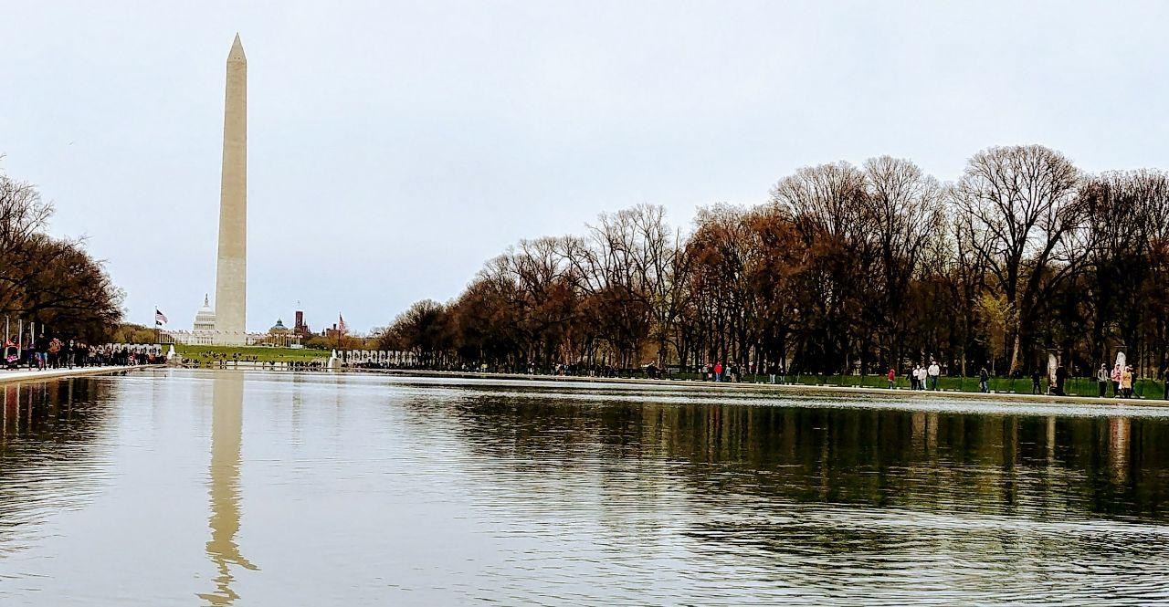 #EBCPhotography: Washington DC Reflection Pool: A witness to historic events
