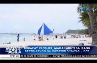 Boracay closure, makakabuti sa ibang destinasyon sa western Visayas – DOT