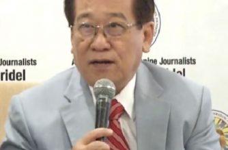 File photo of election lawyer Romulo Macalintal