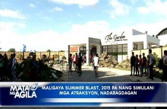 Maligaya Summer Blast 2018, all set na