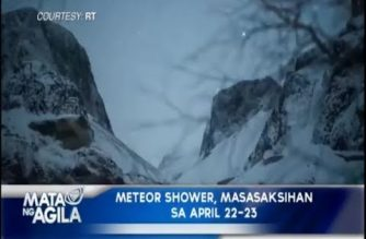 Meteor shower, masasaksihan sa April 22-23