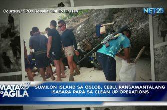 Sumilon Island sa Oslob, Cebu pansamantalang isasara para sa clean-up operations
