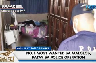 No. 1 notorious na kriminal, patay sa police operation sa Malolos, Bulacan