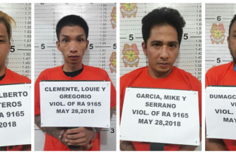4 na drug suspek, arestado sa buy-bust operation sa Baguio City
