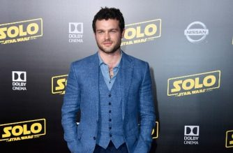 "Alden Ehrenreich attends the premiere of Disney Pictures and Lucasfilm's ""Solo: A Star Wars Story"" at the El Capitan Theatre on May 10, 2018 in Los Angeles, California.   Frazer Harrison/Getty Images/AFP"