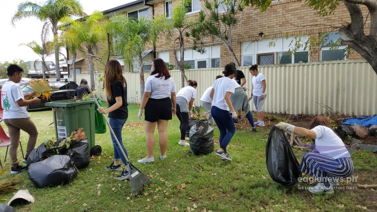 In photos:  INC youth members in Australia join worldwide clean-up drive