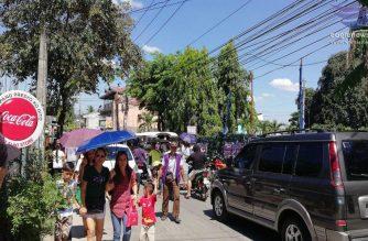 Matinding traffic, naranasan sa Loma de Gato sa Marilao, Bulacan dahil sa dami ng tao na nais bumoto