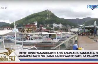 DENR, hindi tatanggapin ang anumang panukala na makapagtayo ng isang underwater park sa Palawan
