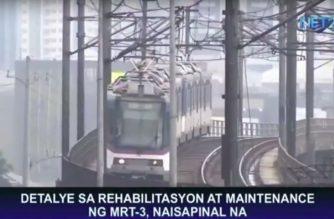 Detalye sa rehabilitasyon at maintenance ng MRT-3, naisapinal na