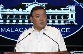 (File photo) Presidential Spokesperson Harry Roque