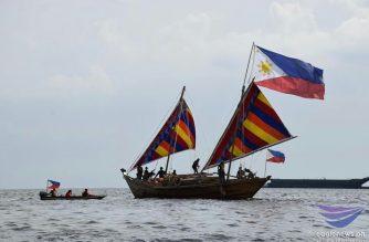 Tatlong Balangay nakabalik na mula sa 22 araw na expedition sa China