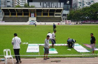 In photos:  Thailand INC members prepare site for May 6 Worldwide Walk