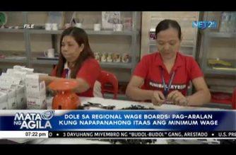 DOLE sa Regional Wage Boards: Pag-aralan kung napapanahong itaas ang minimum wage