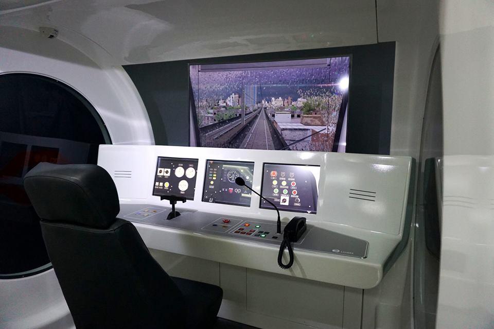 In photos: DOTr launches train driving simulator for LRT-2 train operators