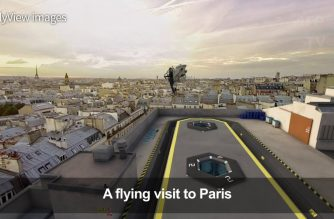 Look: Virtual reality gives users bird's eye view of Paris