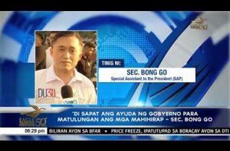 Malacañang, hinikayat ang publiko na tumulong sa mga charity program para sa mga mahihirap