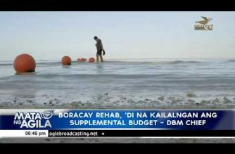 P490M budget, ilalabas ng DBM para sa Boracay rehab