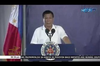 Duterte calls on Air Force to remain vigilant vs terrorism as he vows to push through with its modernization