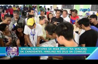 Special elections sa mga barangay na walang SK candidates, hiniling ng DILG sa Comelec