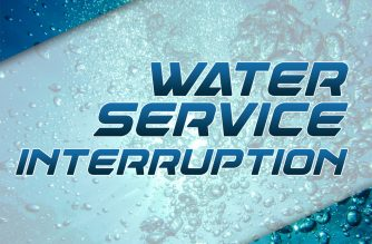 Water service interruption affects several areas on Sunday, Dec. 16
