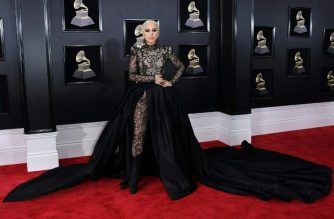 (FILES) In this file photo taken on January 28, 2018 Lady Gaga arrives for the 60th Grammy Awards in New York.  The Grammys will expand the number of nominees in main categories for music's most prestigious awards as organizers try to counter a backlash over how few women and minorities are winning. In one of the biggest changes at the Grammys in years, the Recording Academy -- which administers the prizes -- said June 26, 2018 in a letter to members that next year's awards will boost the field of hopefuls from five to eight for the top four categories. / AFP PHOTO / ANGELA WEISS