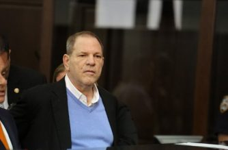 NEW YORK, NY - MAY 25: Harvey Weinstein appears at his arraignment in Manhattan Criminal Court on Friday, May 25, 2018. The former movie producer faces charges in connection with accusations made by aspiring actress Lucia Evans who has said that Weinstein forced her to perform oral sex on him in his Manhattan office in 2004. Weinstein (66) has been accused by dozens of other women of forcing them into sexual acts using both pressure and threats. The revelations of the his behavior helped to spawn the global #MeToo movement.   Jefferson Siegel-Pool via Getty Images/AFP
