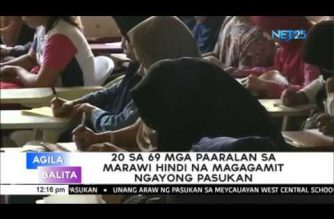 20 schools in Marawi City cannot be used for June school opening