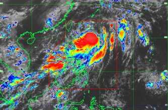 """The track of """"Domeng"""" as of June 9, Saturday, 6:30 a.m. /Pagasa/"""