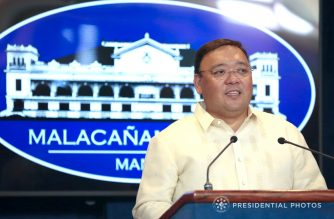 File photo of Philippine presidential Spokesperson Harry Roque.  (Malacanang photo)