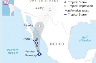 Updated: Mexico declares 'red alert' for Tropical Storm Bud