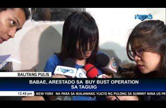 Babae, arestado sa buy bust operation sa Taguig