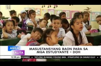 DOH to parents: Avoid excessive sugar and salty food for your children