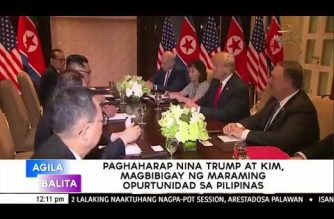 Historic summit between Trump and Kim good for the PHL, says political analyst