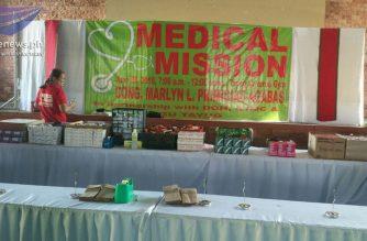 Medical mission, isinagawa sa Tayug, Pangasinan