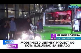 Senate starts use of 15 modernized jeepneys from DOTr for its employees