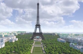 WATCH: A new look for the Eiffel Tower