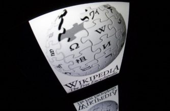 """The """"Wikipedia"""" logo is seen on a tablet screen on December 4, 2012 in Paris. AFP PHOTO / LIONEL BONAVENTURE / AFP PHOTO / LIONEL BONAVENTURE"""