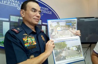 National Capital Region Police Office Director, Chief Supt. Guillermo Eleazar holds a press conference on the authorities' preparations for President Rodrigo Duterte's third State of the Nation Address on July 23. /Mar Gabriel/Eagle News/