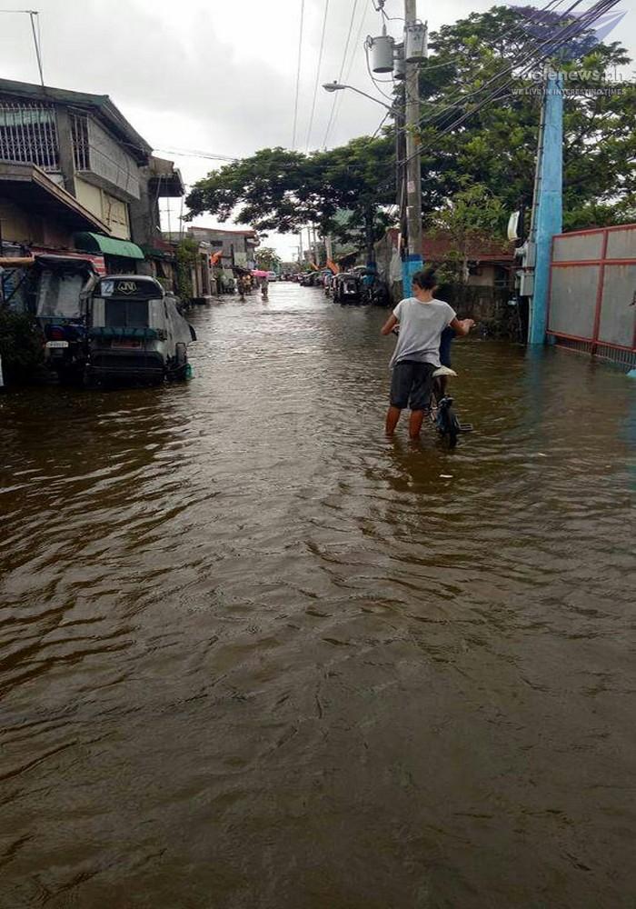 News in Photos: Situation in Barangay Perez, Bulacan