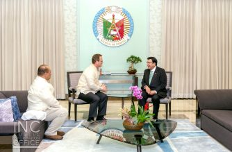 Guam's second highest official makes second courtesy call to INC Executive Minister, greets INC on its 104th year