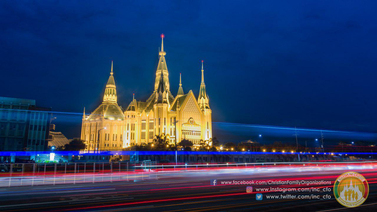 In photos: The Iglesia Ni Cristo Central Temple glittering like a jewel on the INC's 104th anniversary