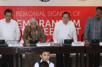 PHL Red Cross signs MOA with DepEd, CHED for teacher and student training on disaster response