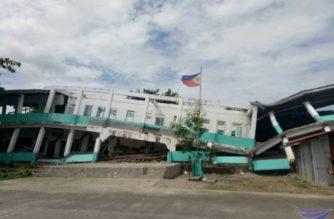 News in Photos: Aftermath of 5.1 magnitude earthquake in Surigao City, Surigao del Norte