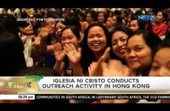 Iglesia Ni Cristo conducts outreach activity in Hong Kong
