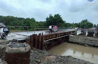 DPWH naglabas ng travel advisory sa mga impassable road sa Ilocos Region