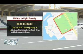 MMDA issues advisory on road closures for the July 15 INC Aid for Humanity to Fight Poverty in Manila